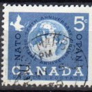 CANADA 1959 - Scott 384 used - NATO 10th Anniv   (10-389)