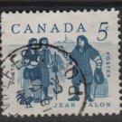 CANADA 1962 - Scott 398 used - 5c, Jean Talon (10-416)