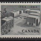 CANADA 1964 - Scott 431 used - 5c,  Centenary of Charlottetown (10-475)