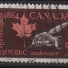 CANADA 1964 - Scott 432 used - 5c, Quebec Conference(10-478)