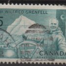 CANADA 1965 - Scott 438 used - 5c, Sir Wilfred Grenfell   (10-488)