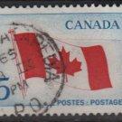 CANADA 1965 - Scott 439 used - 5c, Maple leaf flag  (10-490)