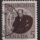 CANADA 1965 - Scott 440 used - 5c, Winston Churchill   (10-491*)