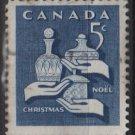 CANADA 1965 - Scott 444 used - 5c, Christmas  (10-497)