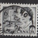 CANADA 1967 - Scott 460 used - 6c Queen Elizabeth II  (10-524)