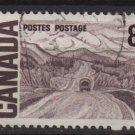 CANADA 1967  - Scott 461 used -  8c, Alaska Highway (10-527)