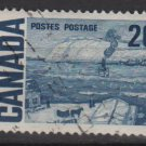 CANADA 1968 - Scott 464 used - 20c, The Ferry, Quebec (10-531)