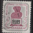 CANADA 1967 - Scott 470 used - 5c, Woman suffrage   (10-544)