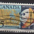 CANADA 1968 - Scott 479 used - 5c, Meteorologicals reading  (10-558)