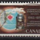 CANADA 1968 - scott 481 used - 5c, Hydrological decade (10-561)