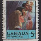 CANADA 1969 - Scott 502 used - 5c, Christmas   (10-573)