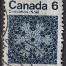 CANADA 1971 - Scott 554 used  - 6c,  Snowflake  (10-608)