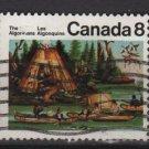 CANADA 1973 - Scott 567 used - 8c, Mic Mac Indians  (10-617)