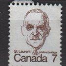 CANADA 1972 - Scott 592 used - 7c Sir Louis St Laurent  (10-631)
