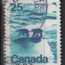 CANADA 1972 - Scott 597 used - 25c,  Polar Bears   (10-637)