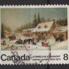 CANADA 1972 - Scott 610 - painting, Cornelius Krieghoff  (10-645)