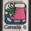 CANADA 1973 - Scott 625 used  - 6c, Christmas, Ice Skate (10-654)