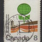 CANADA 1974 - Scott 640 used - 8c,  Agricultural Education  (10-660)