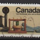 CANADA 1974 - Scott 641 used - 8c,  telephone  (10-661)