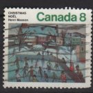 CANADA 1974 - Scott 651 used - 8c,  Christmas painting   (10-671)