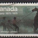 Canada 1975 - Scott 667 used - 8c, Wild Horse Race  (10-680)