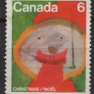 CANADA 1975 - Scott 674 used - 6c, Christmas Children drawing   (10-681)