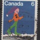 CANADA 1975 - Scott 675 used - 6c, Christmas Children drawing   (10-682)