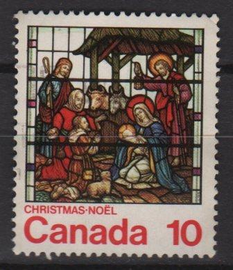 CANADA 1976 - scott 698 used - 10c, Christmas      (10-692)