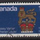 CANADA 1977 - Scott 735 used - 12c, Canadian born Governors (10-721)
