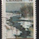 CANADA 1989 - Scott 1256 used - 38c, Winter  landscape  (11-151)