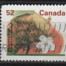 CANADA 1991 - Scott 1366 used - 52c,  Gravenstein Apple   (11-169)