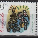 CANADA 1994 - Scott 1533 used - 43c,  Christmas Family singing Carols  (10-181)