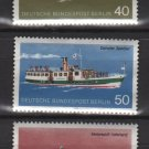 Germany, BERLIN 1975 - Scott 9N354..9N358, set of 5, Mint no gum - Ships(12-152)