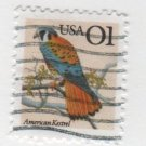 USA 1990/95 - Scott 2476 used - 1c, American Kestrel (P-114)