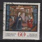 Germany semi-postal 1979-    Scott B569  used -   0.60 +0.30 Pf, Christmas (12-438)