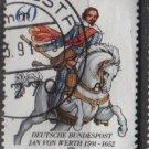 Germany 1991 - Scott 1629 used - 60 pf, Jan von Werth    (12-469)