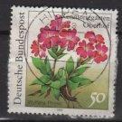 Germany 1991 - Scott 1631 used - 50 pf, Primula, Flowers (12-472)
