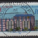 Germany 1990 - Scott 1602 used - 100 pf, Europa, Post office building (12-477)