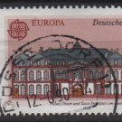 Germany 1990 - Scott 1601 used - 60 pf, Europa, Post office building (12-479)