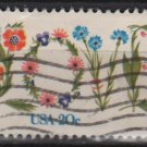USA 1982 - Scott 1951 used - 20c, LOVE (12-489)