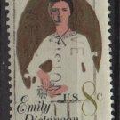 USA 1971 - Scott 1436 used - 8c, Emilly Dickinson   (12-517)