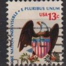 USA 1975 - Scott 1596 used - 13c, Americana issue, Eagle & Shield (12-550)