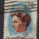 USA 1976 - Scott 1699  used - 13c, Clara Maass   (o-210)