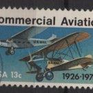 USA 1976 - Scott  1684 used - 13c,  Commercial Aviation  (o-218)