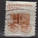 USA 1985 - Scott 2136 COIL - 25c Bread Wagon 1880s  (12-568)