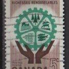 Canada 1961 - Scott 395  used -  5c, Natural ressources (C - 237)