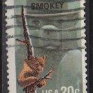 USA 1984 - Scott 2096 used - 20C, Smokey Bear (o-559)