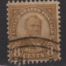 USA 1927 - Scott 640 used - 8c Grant (F-581)