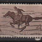 USA 1960 - Scott 1154 used - 4c, Pony Express (N-482)