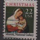 USA 1987 - Scott 2367 used - 22c, Christmas, Madonna & Child (A-47)